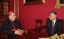 Kardinal Bozanić primio predsjednika Hrvatskog sabora