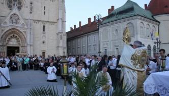 Proslavljeno Tijelovo u zagrebačkoj katedrali6