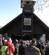 Biskup Gorski predvodio misu na 24. zimskom planinarskom hodočašću