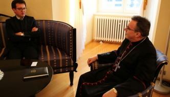 Kardinal Bozanić primio u nastupni posjet veleposlanika Republike Francuske