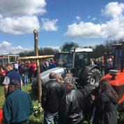 Blagoslov traktora na Strugači