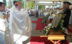 Kardinal Bozanić posebni izaslanik pape Franje na proslavi 650. obljetnice dolaska slike Majke Božje na Trsat