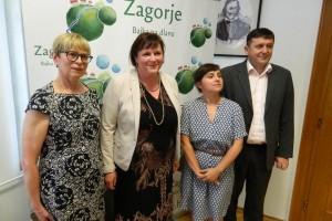 Finska pravobraniteljica za ravnopravnost spolova Pirkko Mäkinen u Zagorju
