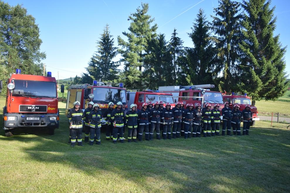 Vatrogasna vježba u Selnici 1