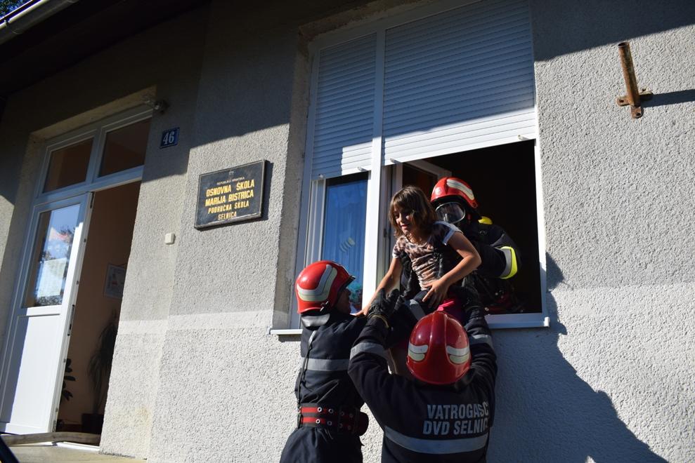 Vatrogasna vježba u Selnici 2