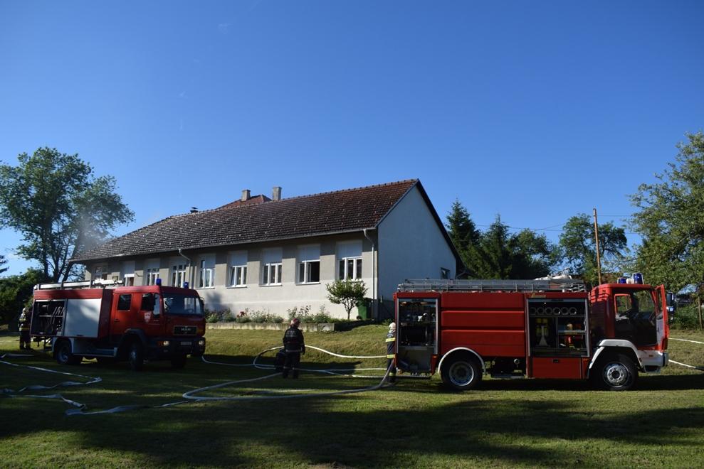 Vatrogasna vježba u Selnici 3