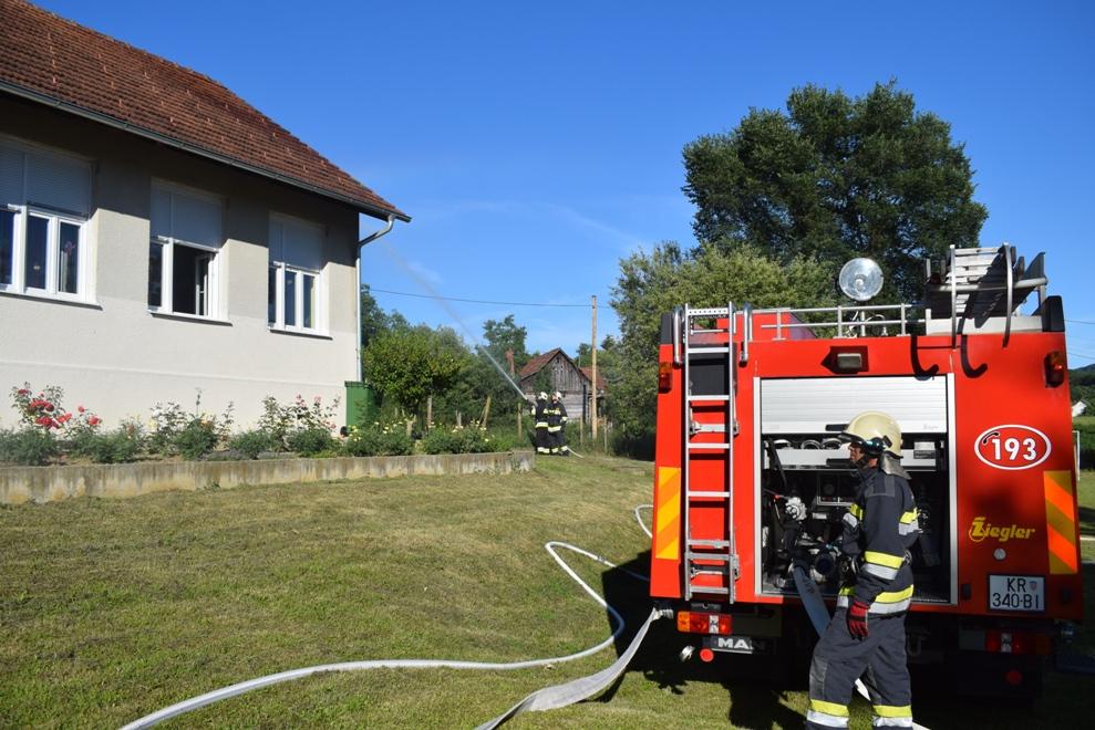 Vatrogasna vježba u Selnici 6