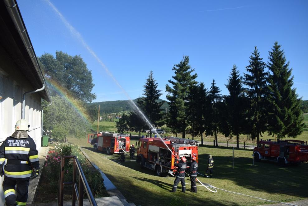 Vatrogasna vježba u Selnici 7