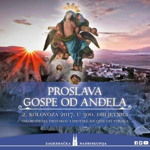Proslava Gospe od Anđela u 300. obljetnici oslobođenja Imotskog i Imotske krajine od Turaka