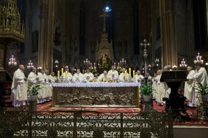 Euharistijsko slavlje početka službe novoimenovanog apostolskog nuncija u Republici Hrvatskoj nadbiskupa Giuseppea Pinta