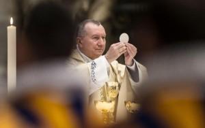 Kardinal Parolin predvodi euharistijsko slavlje u zagrebačkoj katedrali