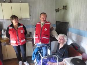 Volonteri GDCK-a Zabok posjetili osobe starije životne dobi
