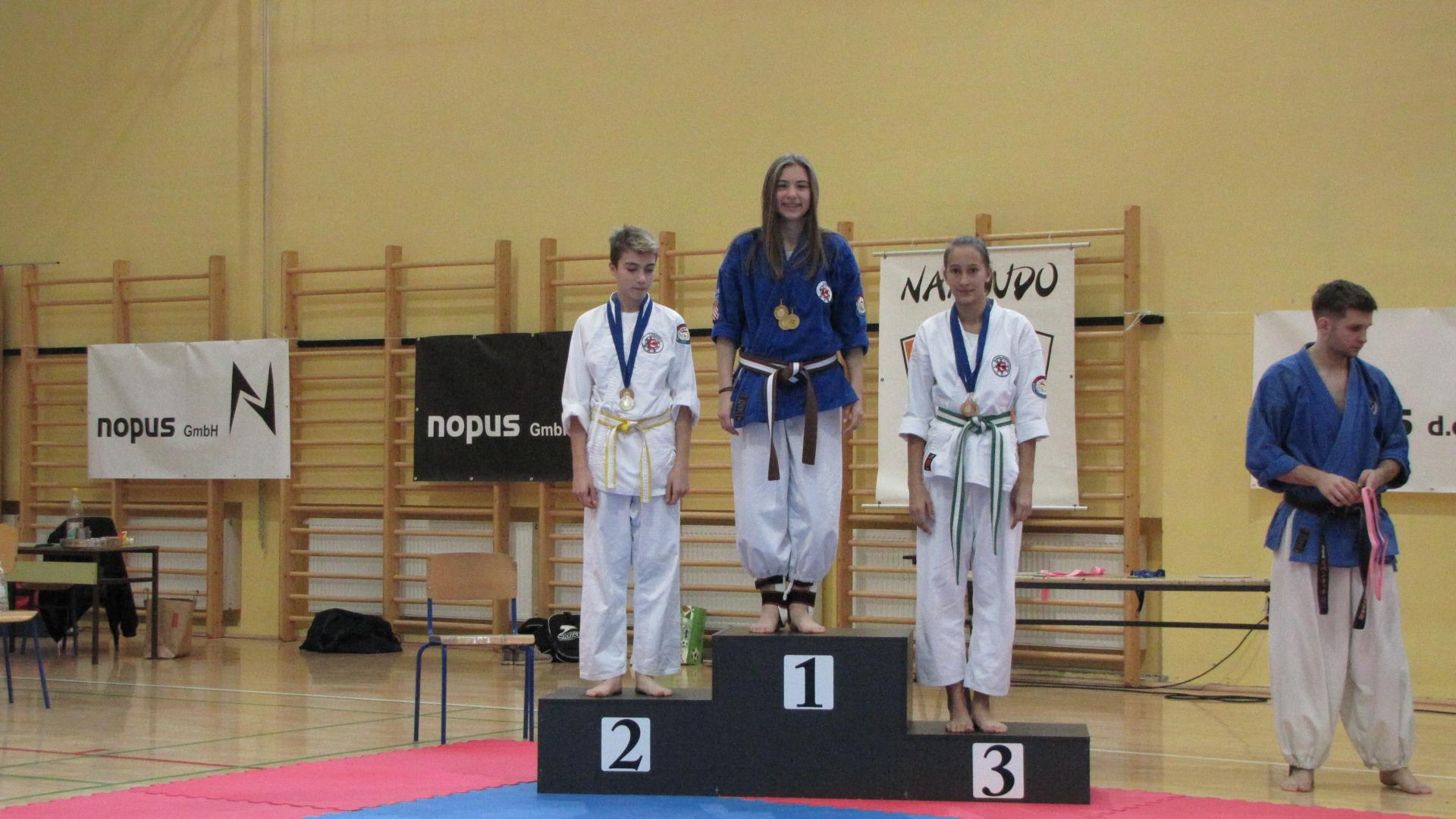 23 medalje za Nanbudo klub M. Bistrica 1