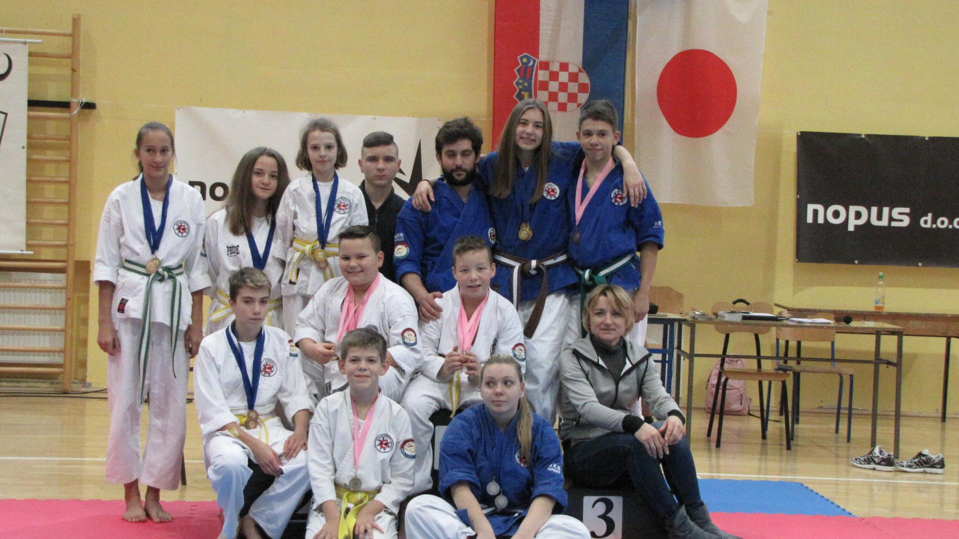 23 medalje za Nanbudo klub M. Bistrica 4