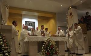 Biskup Šaško predslavio proslavu župne svetkovine Krista Kralja na zagrebačkom Trnju