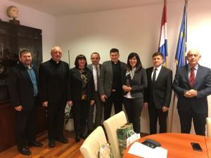 Ministrica Divjak primila delegaciju iz Marije Bistrice