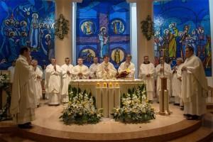 Proslava župnog blagdana i blagoslov novog mozaika