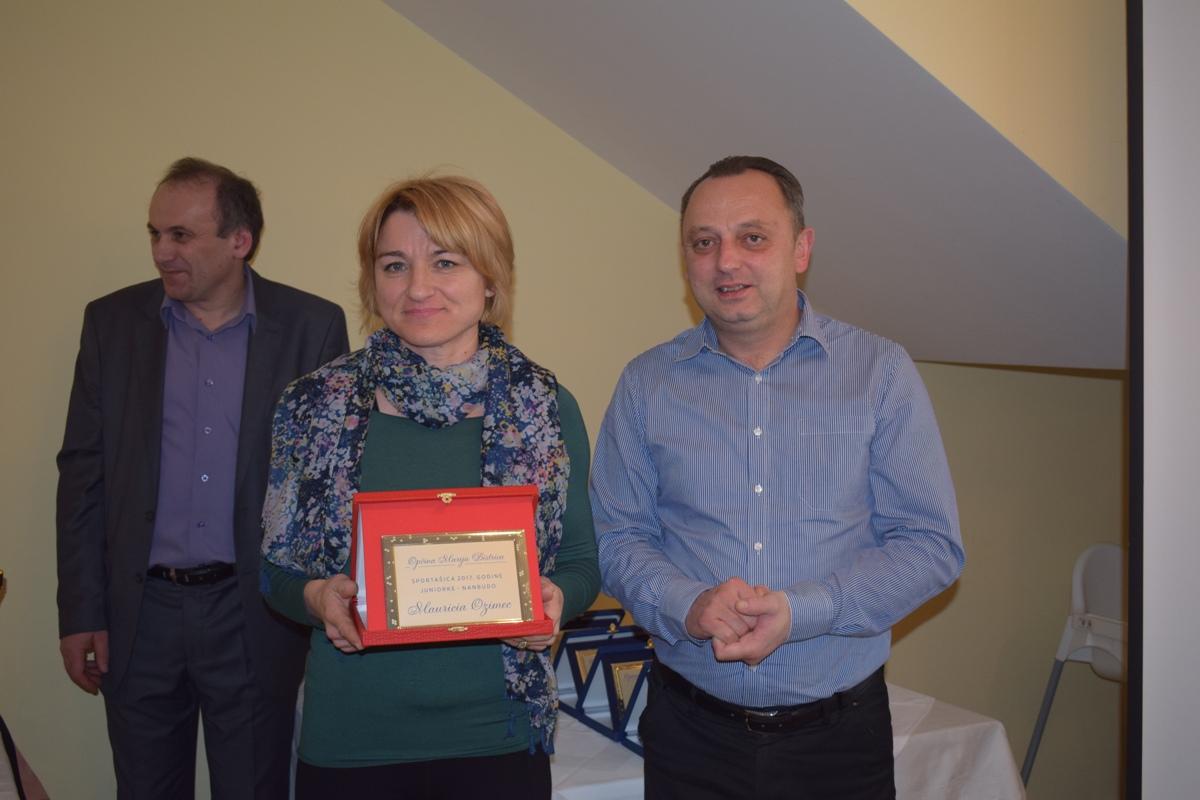 Dino Čukman i Dora Brlek naj sportaši Marije Bistrice 05