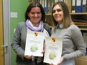 Tamara Pisk jedina natjecateljica na županijskom natjecanju iz španjolskog jezika