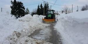 Čišćenje snijega zadalo probleme