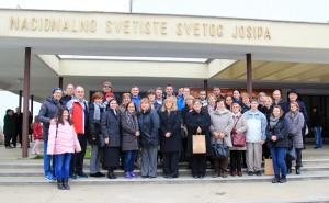 Zaposlenici i volonteri Caritasa na hodočašću sv. Josipu i bl. Alojziju