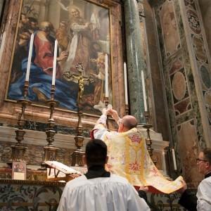 Redovita tradicionalna latinska misa u crkvi Krista Kralja