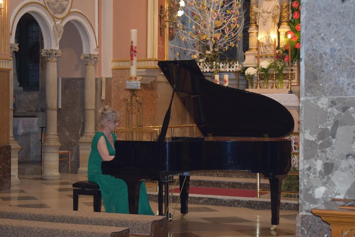 Ida Gamulin nastupila u Svetištu MBB-e1
