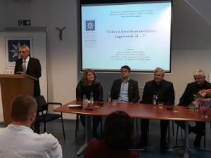 Na Hrvatskom katoličkom sveučilištu održan okrugli stol o medijima
