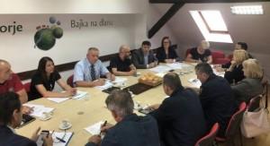 Sjednica Stožera civilne zaštite Krapinsko – zagorske županije